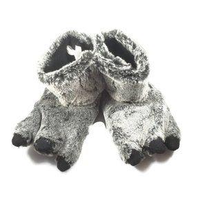 Target Werewolf Fuzzy Slippers Baby Size 9-10 NWOT
